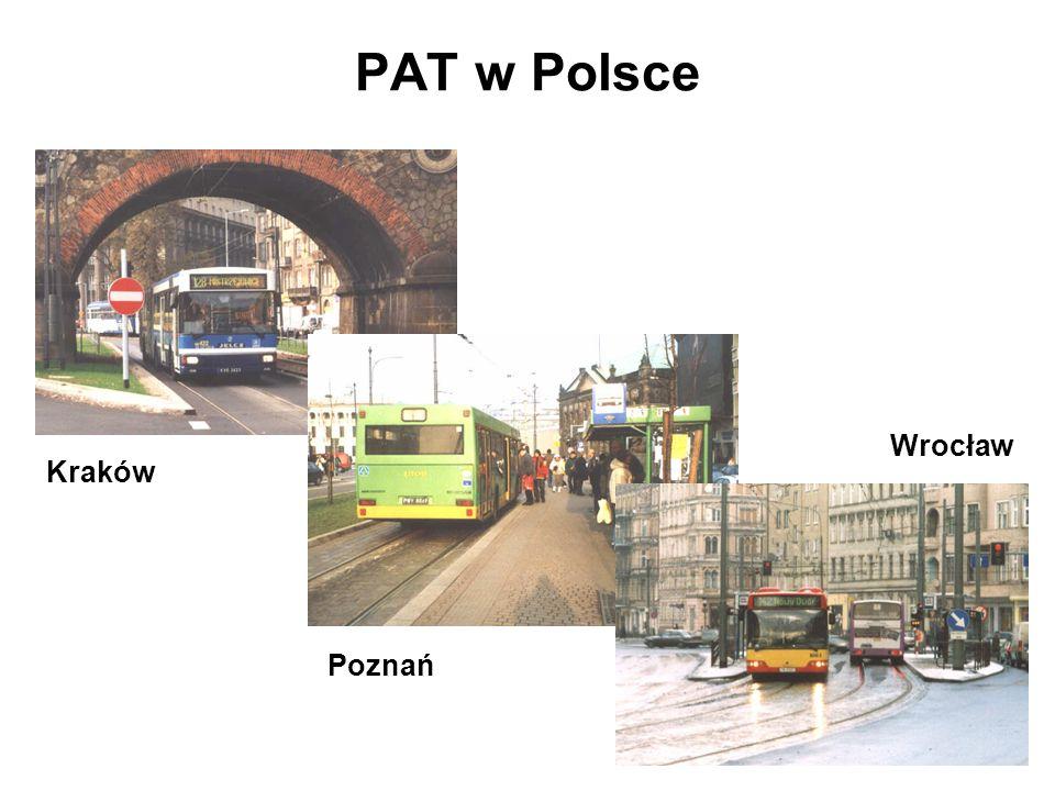 PAT w Polsce Wrocław Kraków Poznań