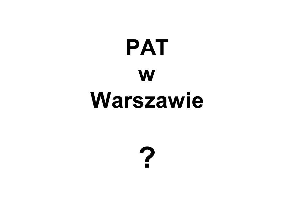 PAT w Warszawie