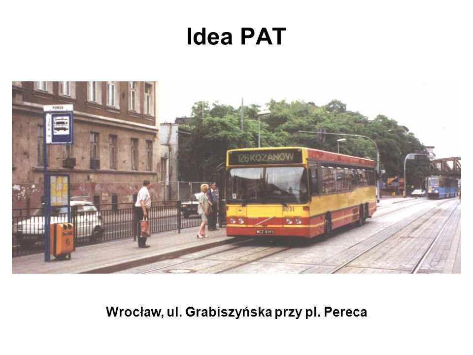 Wrocław, ul. Grabiszyńska przy pl. Pereca