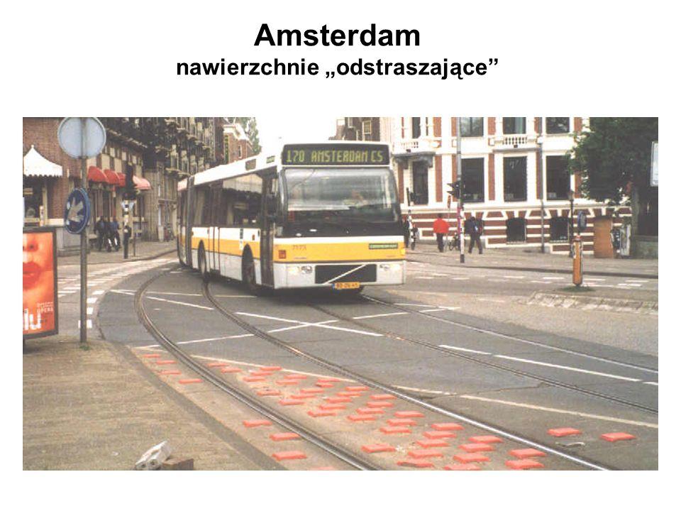 """Amsterdam nawierzchnie """"odstraszające"""