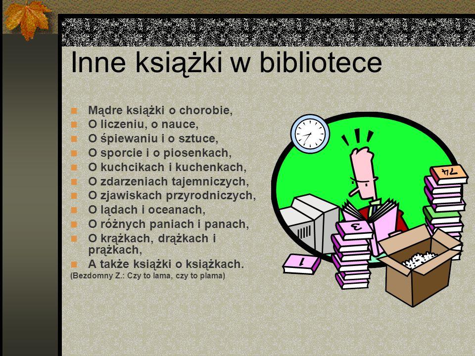 Inne książki w bibliotece