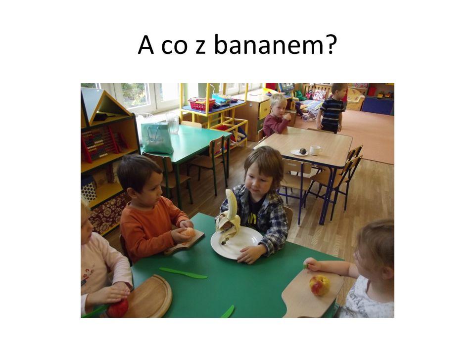 A co z bananem