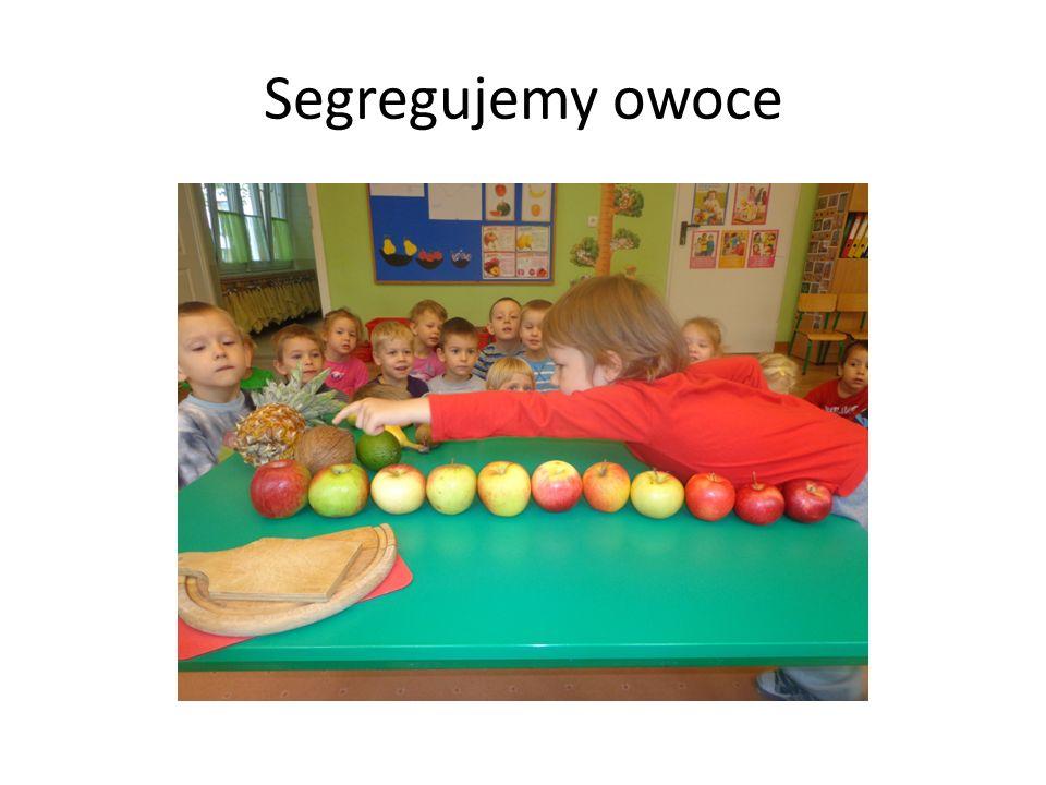 Segregujemy owoce