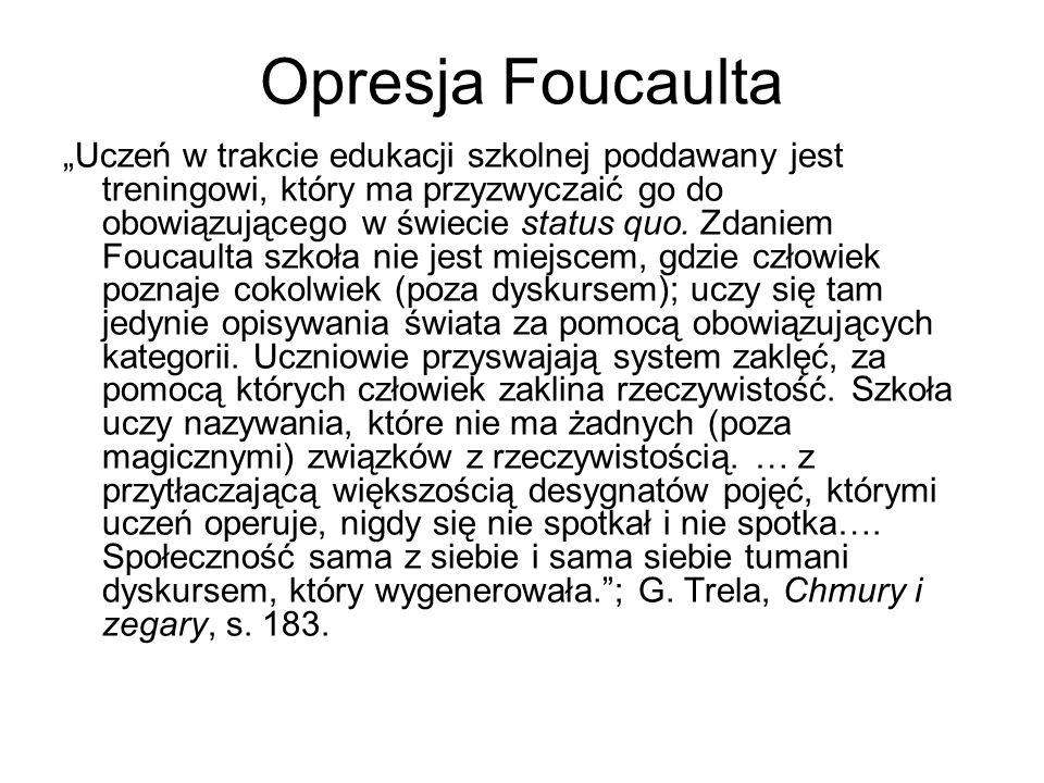 Opresja Foucaulta