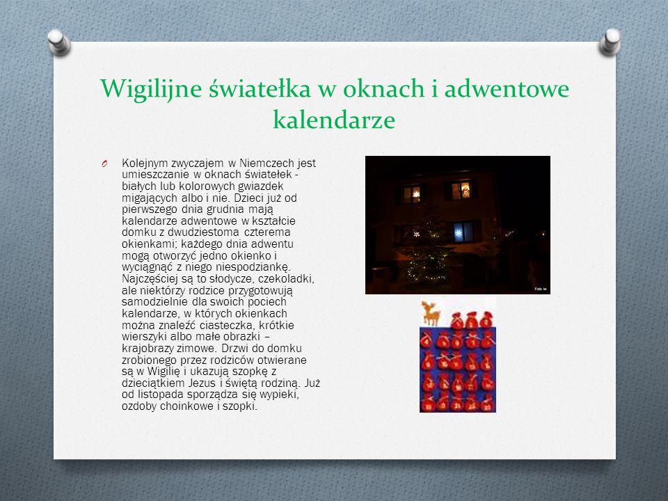 Wigilijne światełka w oknach i adwentowe kalendarze