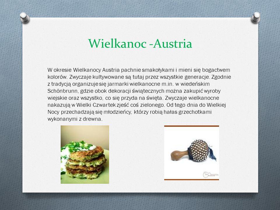 Wielkanoc -Austria