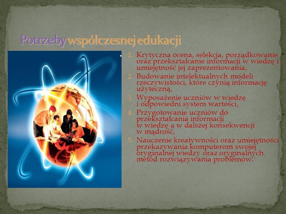 Potrzeby współczesnej edukacji
