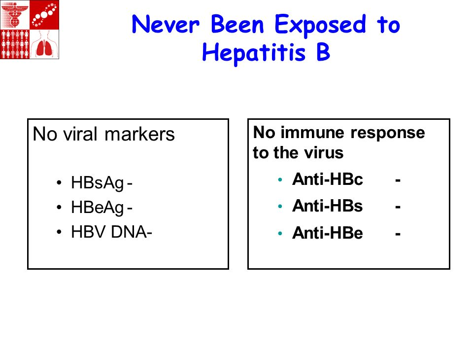 Never Been Exposed to Hepatitis B