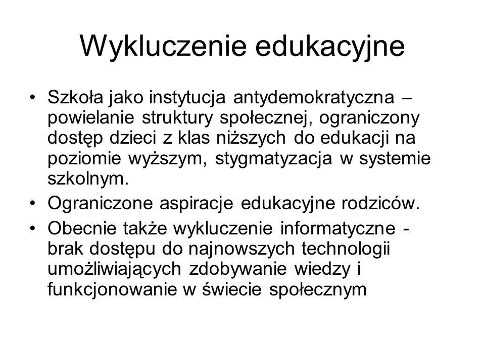Wykluczenie edukacyjne
