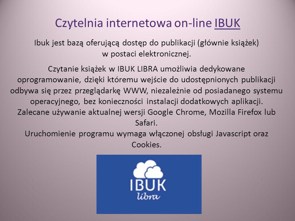 Czytelnia internetowa on-line IBUK