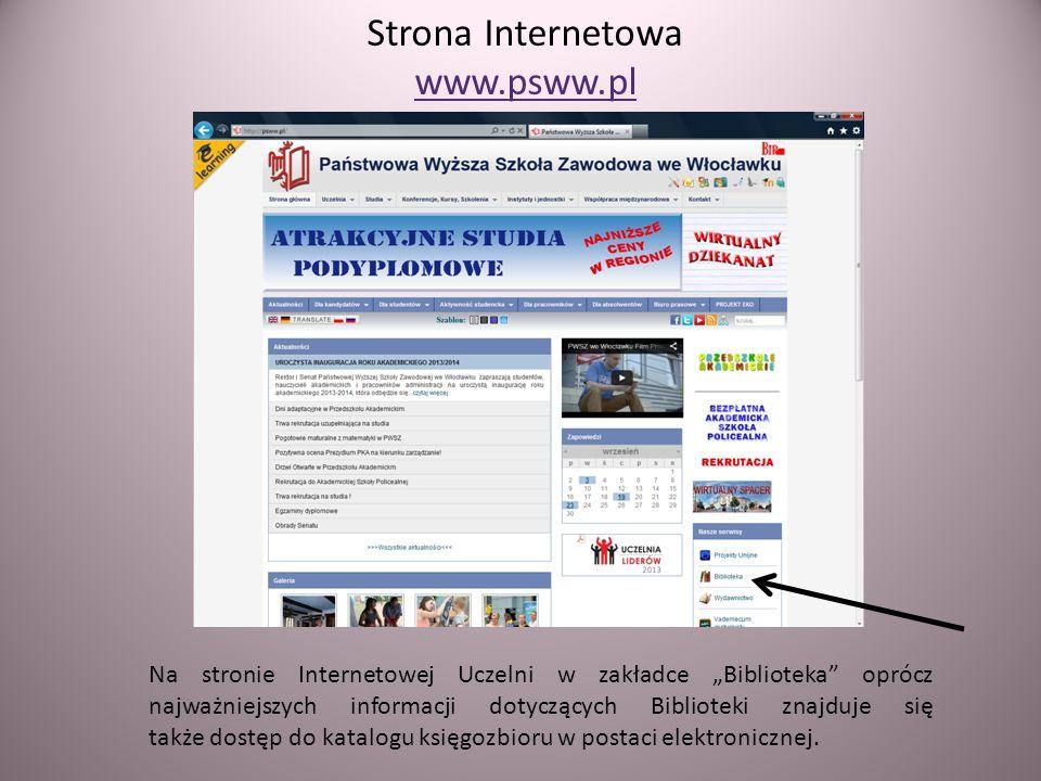 Strona Internetowa www.psww.pl