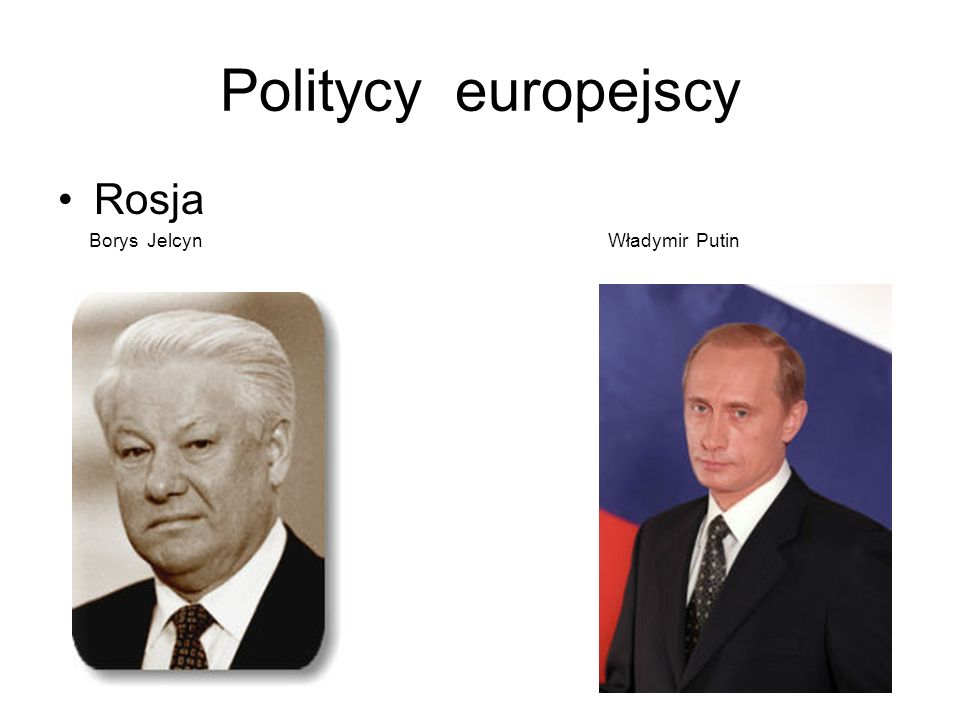 Politycy europejscyRosja.