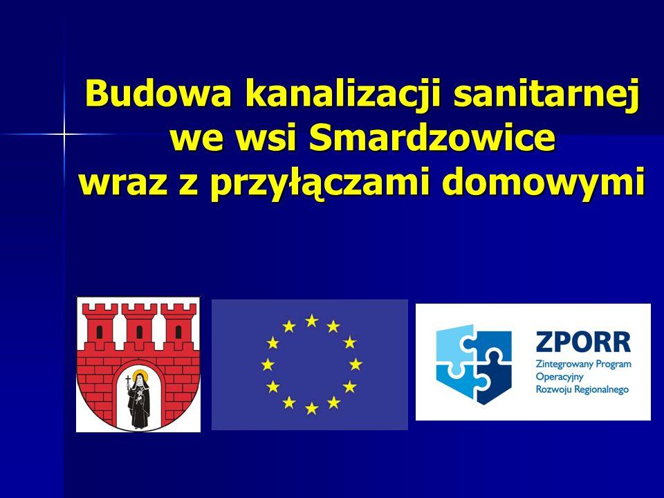 Budowa kanalizacji sanitarnej we wsi Smardzowice
