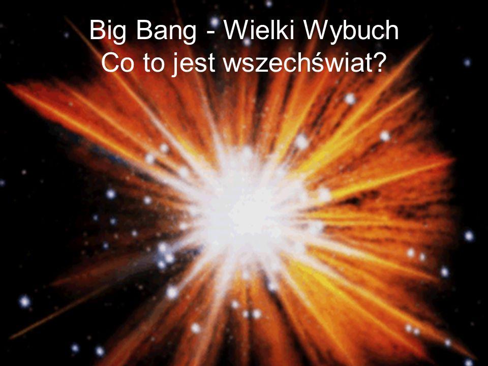 Big Bang - Wielki Wybuch Co to jest wszechświat