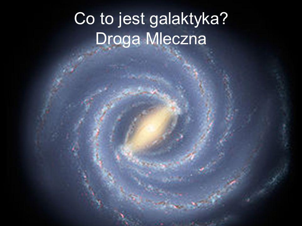 Co to jest galaktyka Droga Mleczna