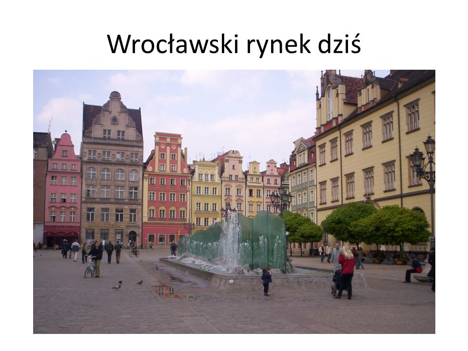 Wrocławski rynek dziś