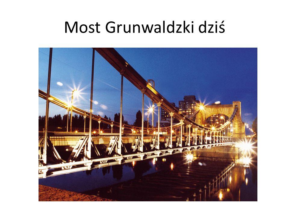 Most Grunwaldzki dziś
