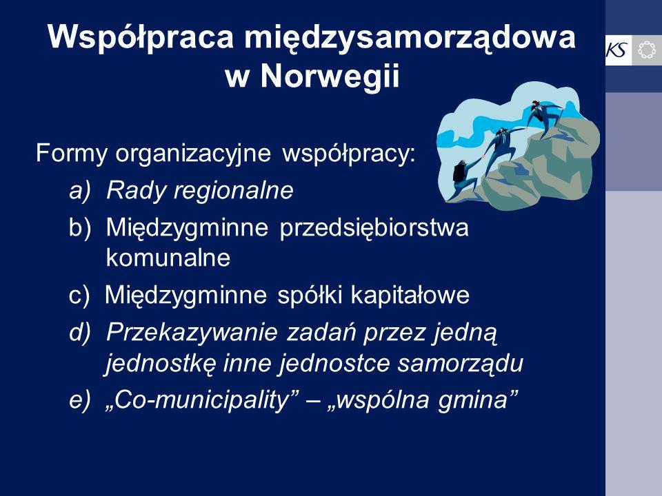 Współpraca międzysamorządowa w Norwegii
