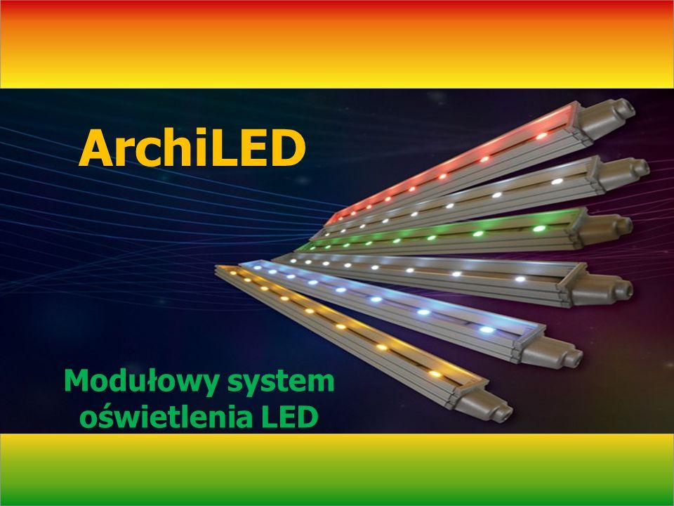 Modułowy system oświetlenia LED