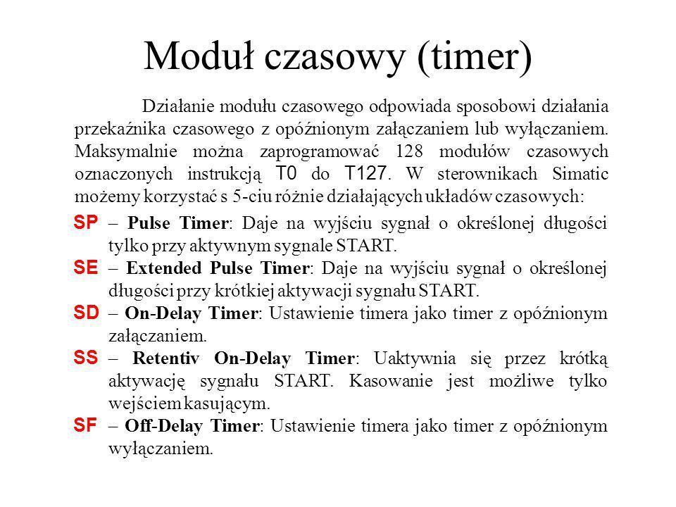 Moduł czasowy (timer)