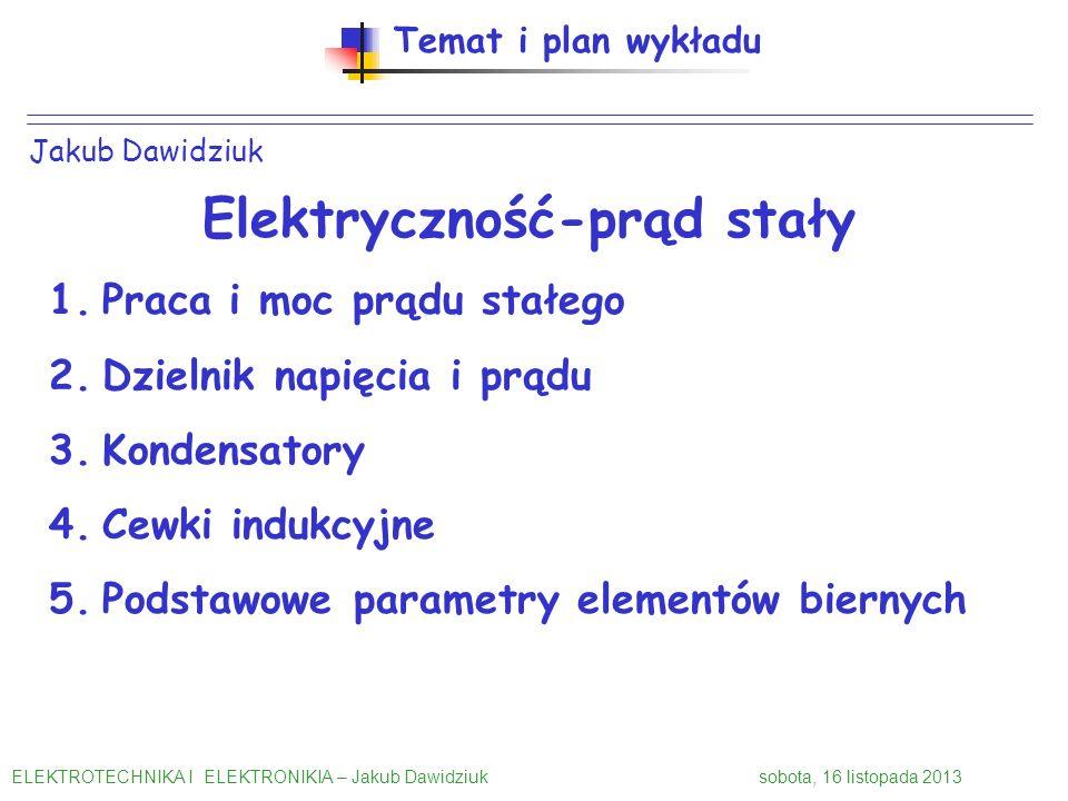 Elektryczność-prąd stały