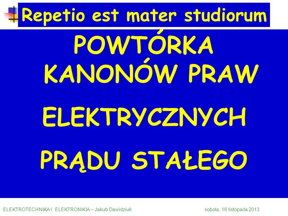 Repetio est mater studiorum