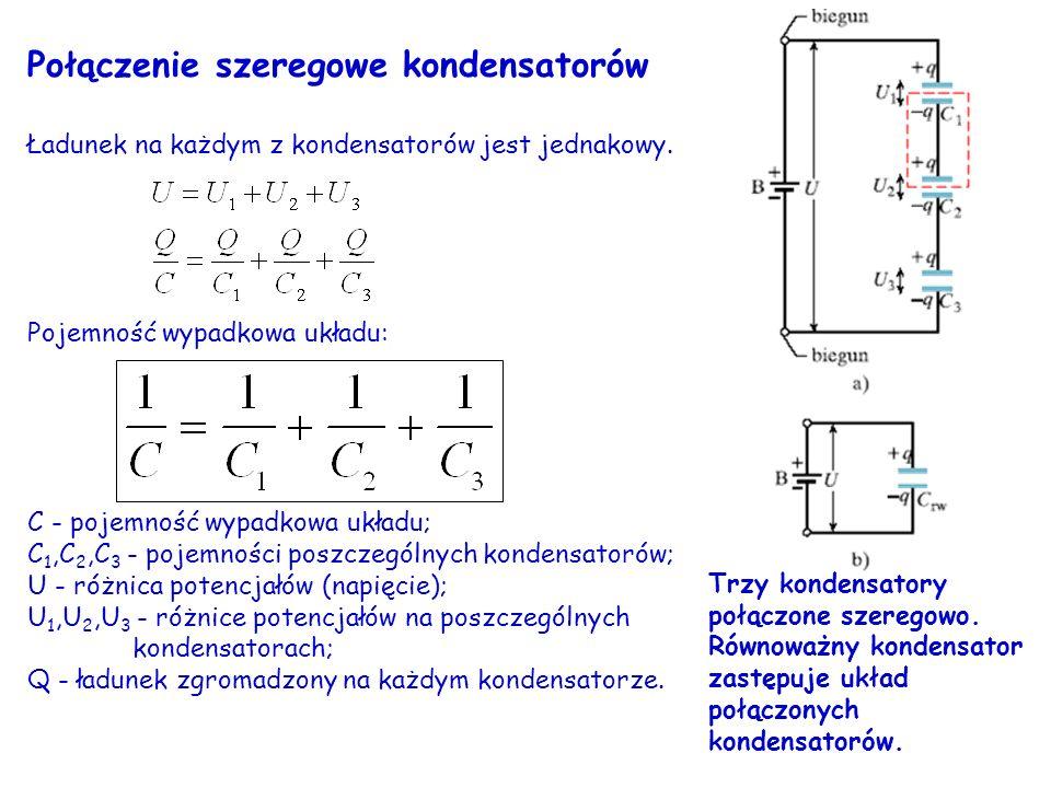 Połączenie szeregowe kondensatorów