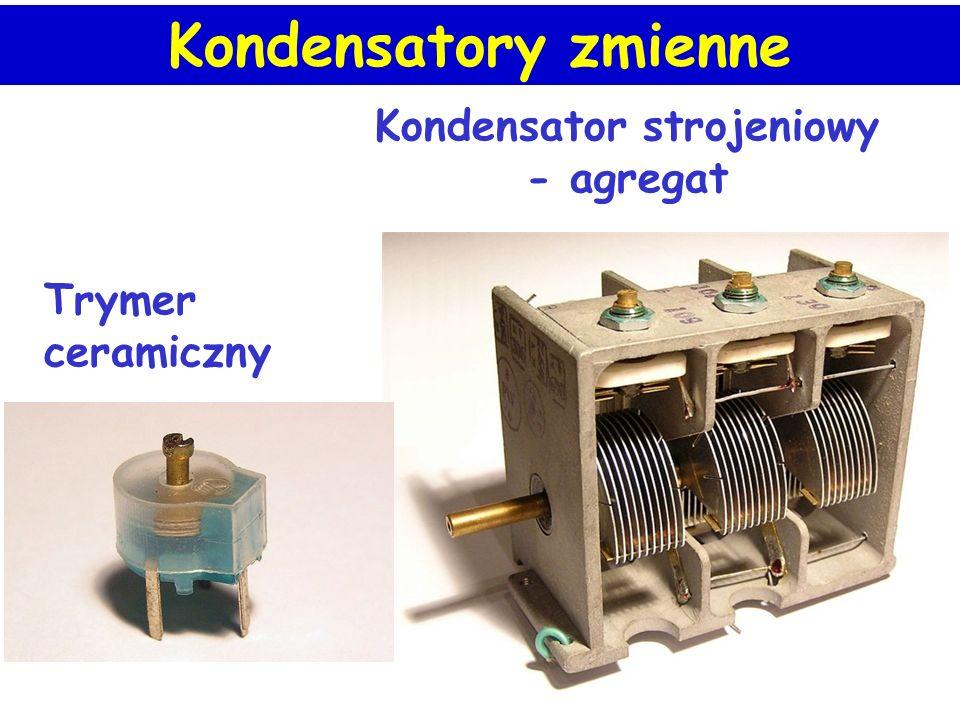 Kondensator strojeniowy - agregat