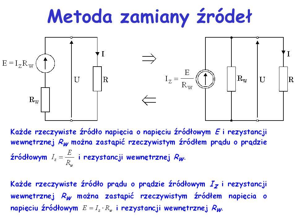 Metoda zamiany źródeł 16