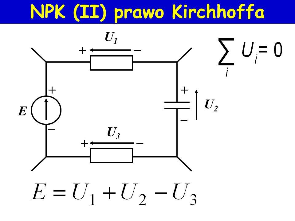 NPK (II) prawo Kirchhoffa