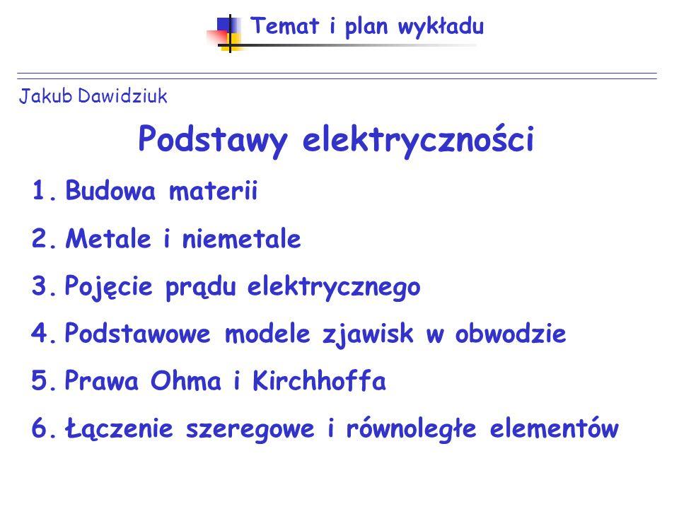 Podstawy elektryczności