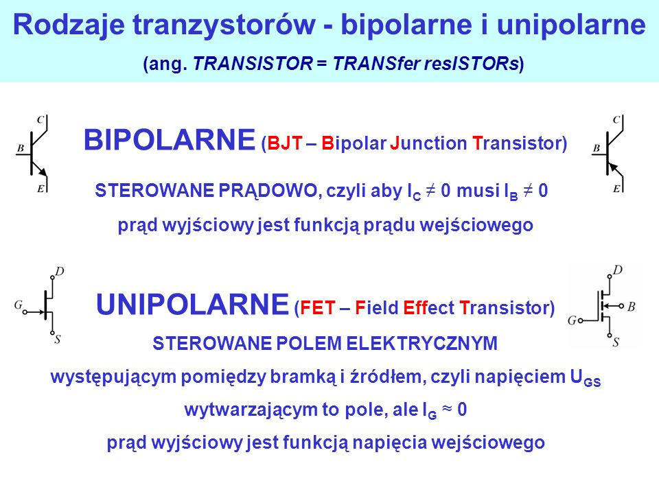 BIPOLARNE (BJT – Bipolar Junction Transistor)