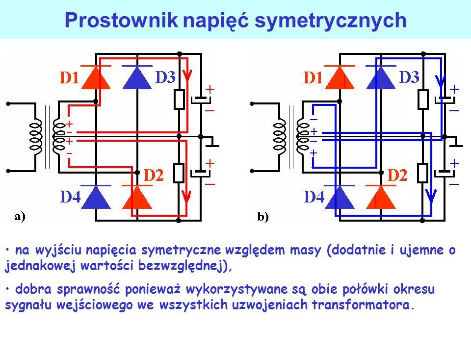 Prostownik napięć symetrycznych