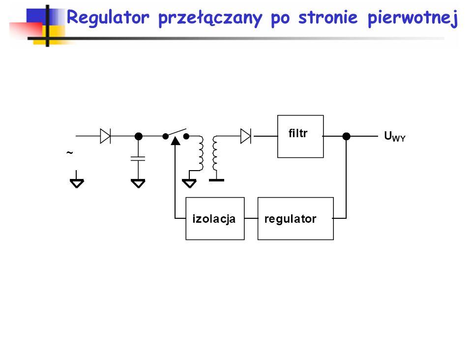 Regulator przełączany po stronie pierwotnej