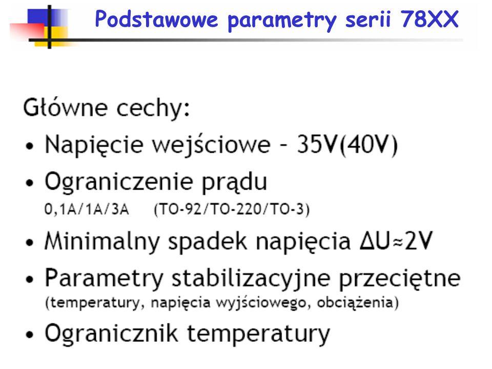 Podstawowe parametry serii 78XX