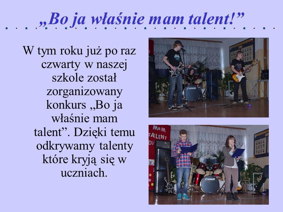 """Bo ja właśnie mam talent!"