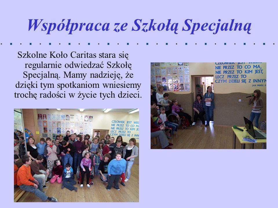 Współpraca ze Szkołą Specjalną