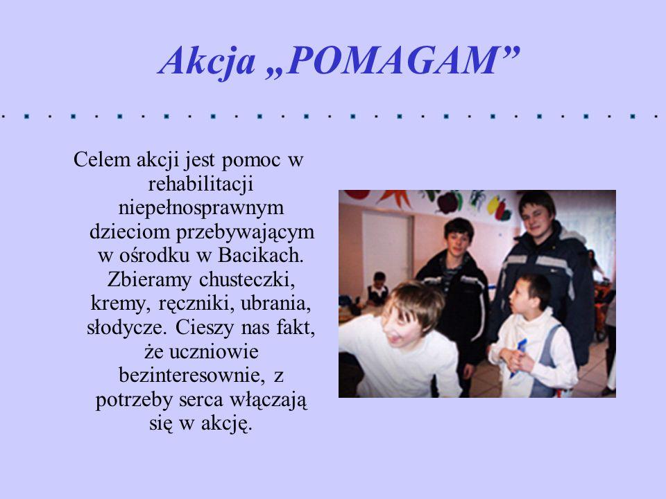 """Akcja """"POMAGAM"""