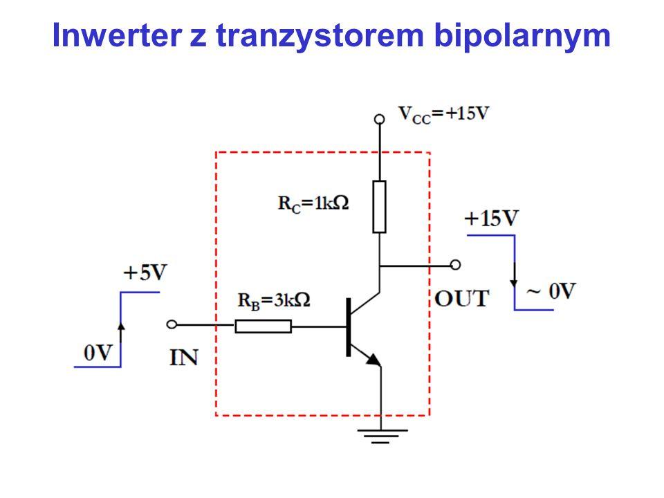 Inwerter z tranzystorem bipolarnym