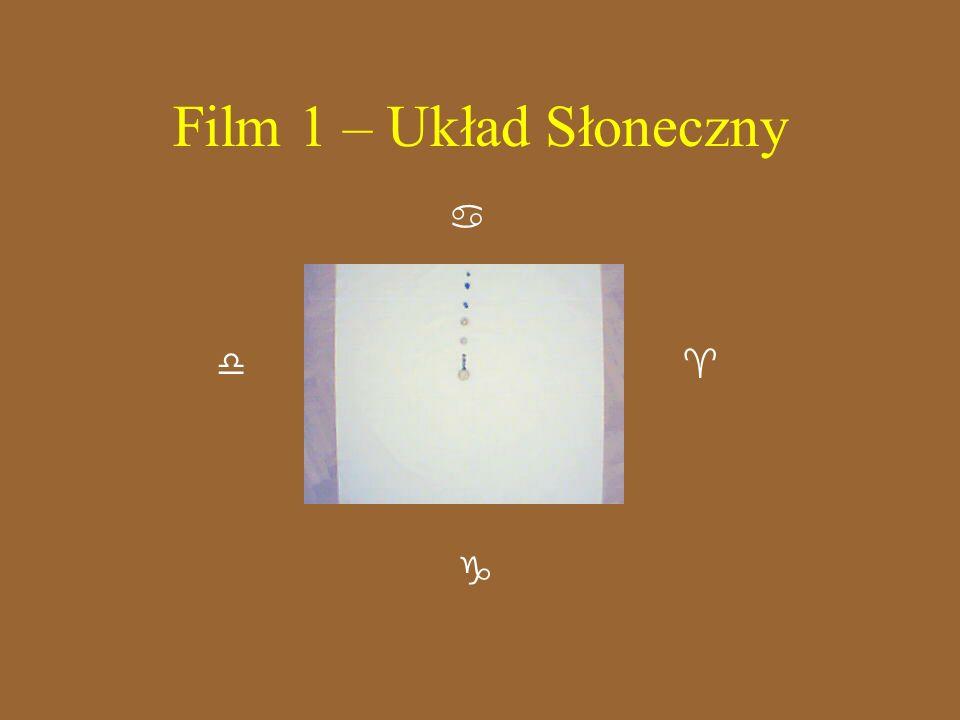 Film 1 – Układ Słoneczny    