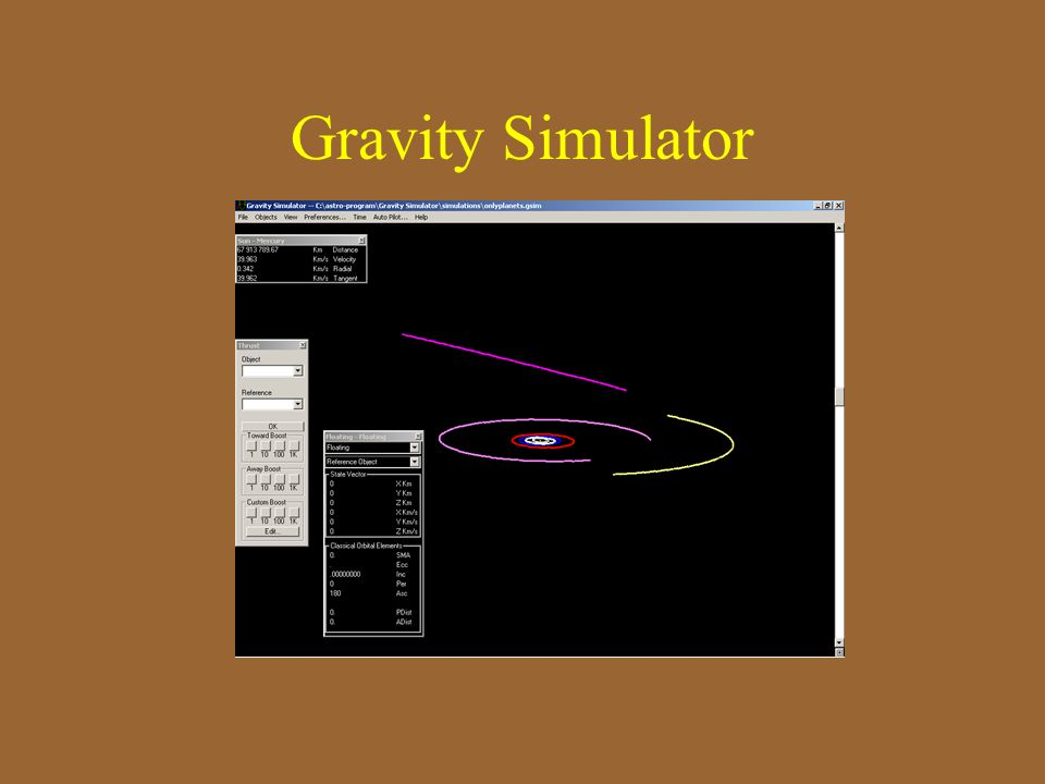 Gravity Simulator