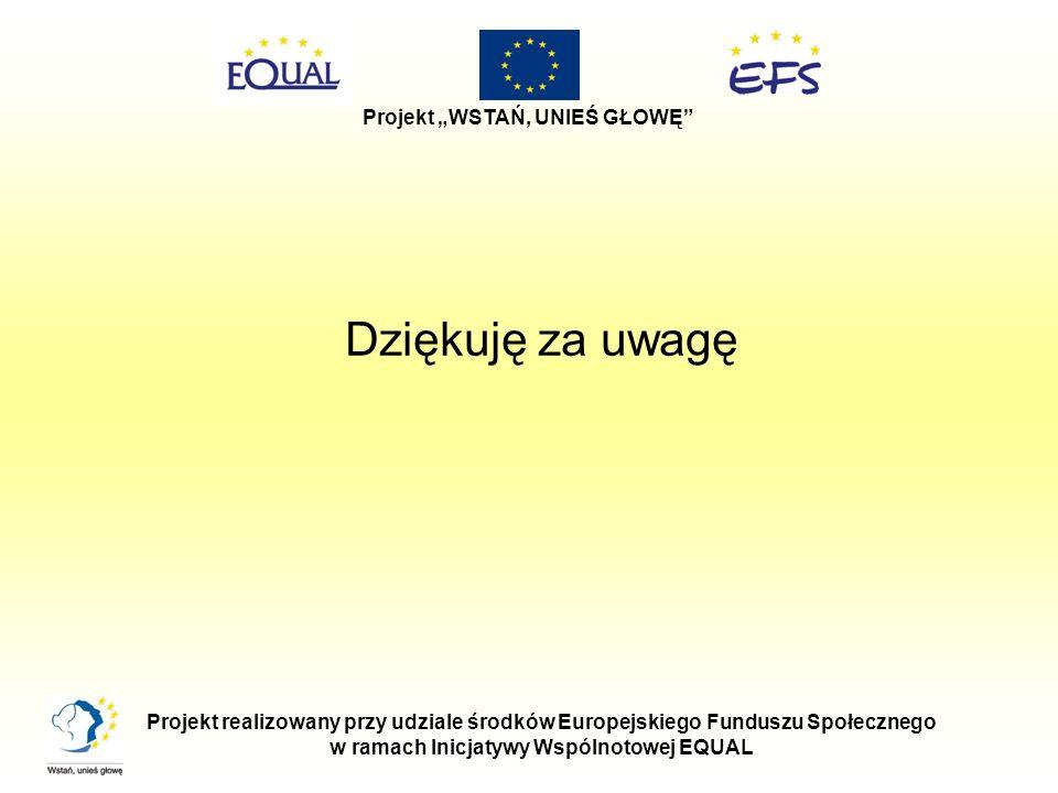 w ramach Inicjatywy Wspólnotowej EQUAL