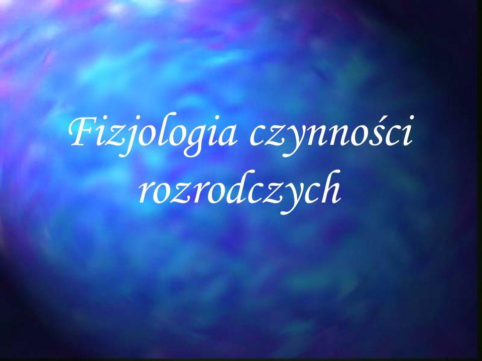 Fizjologia czynności rozrodczych