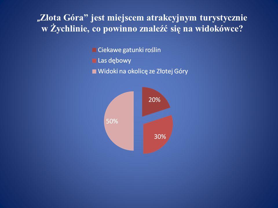 """""""Złota Góra jest miejscem atrakcyjnym turystycznie w Żychlinie, co powinno znaleźć się na widokówce"""