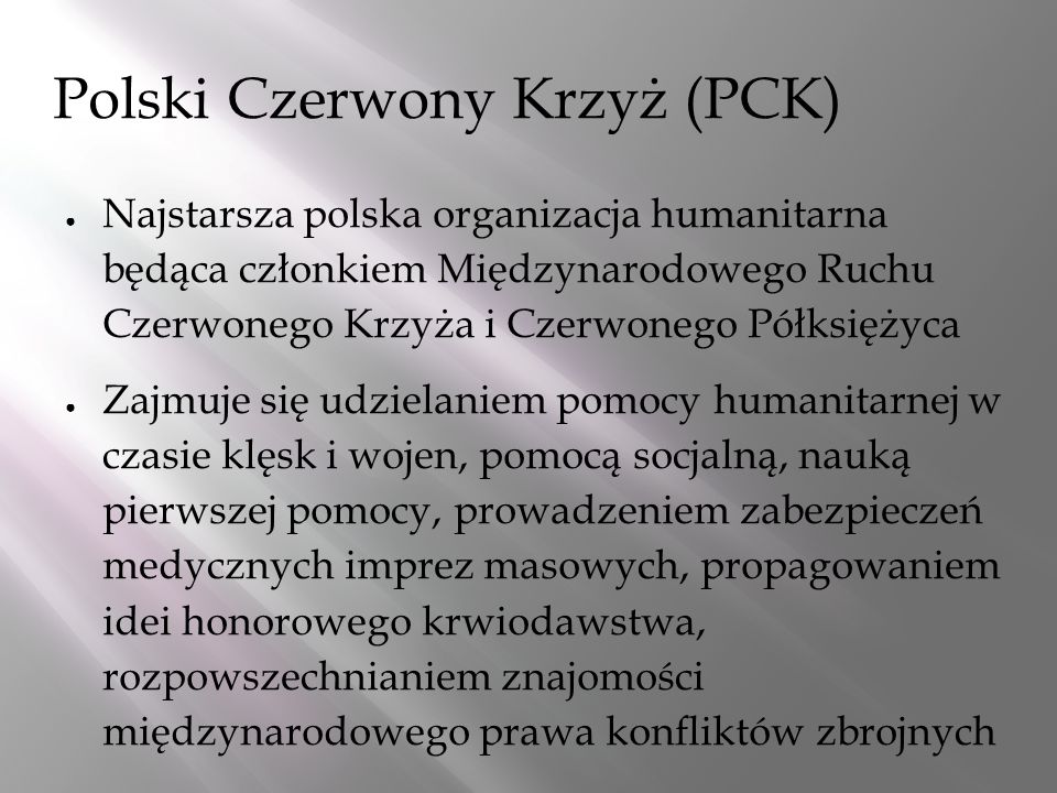 Polski Czerwony Krzyż (PCK)