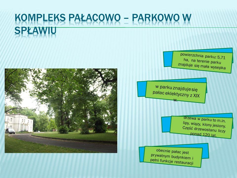 Kompleks pałacowo – parkowo w Spławiu