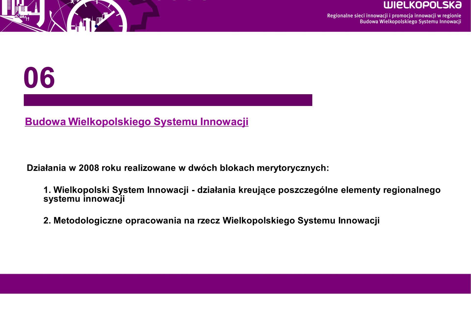 Budowa Wielkopolskiego Systemu Innowacji