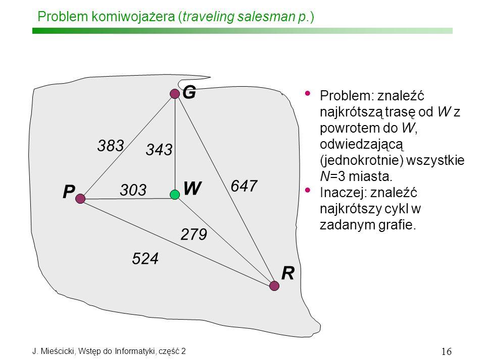 Problem komiwojażera (traveling salesman p.)