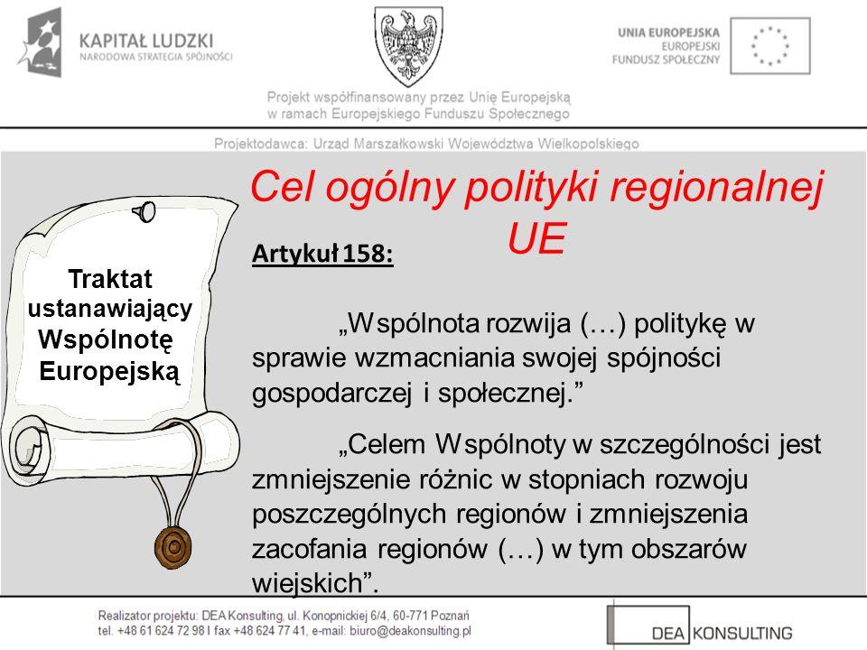 Cel ogólny polityki regionalnej UE