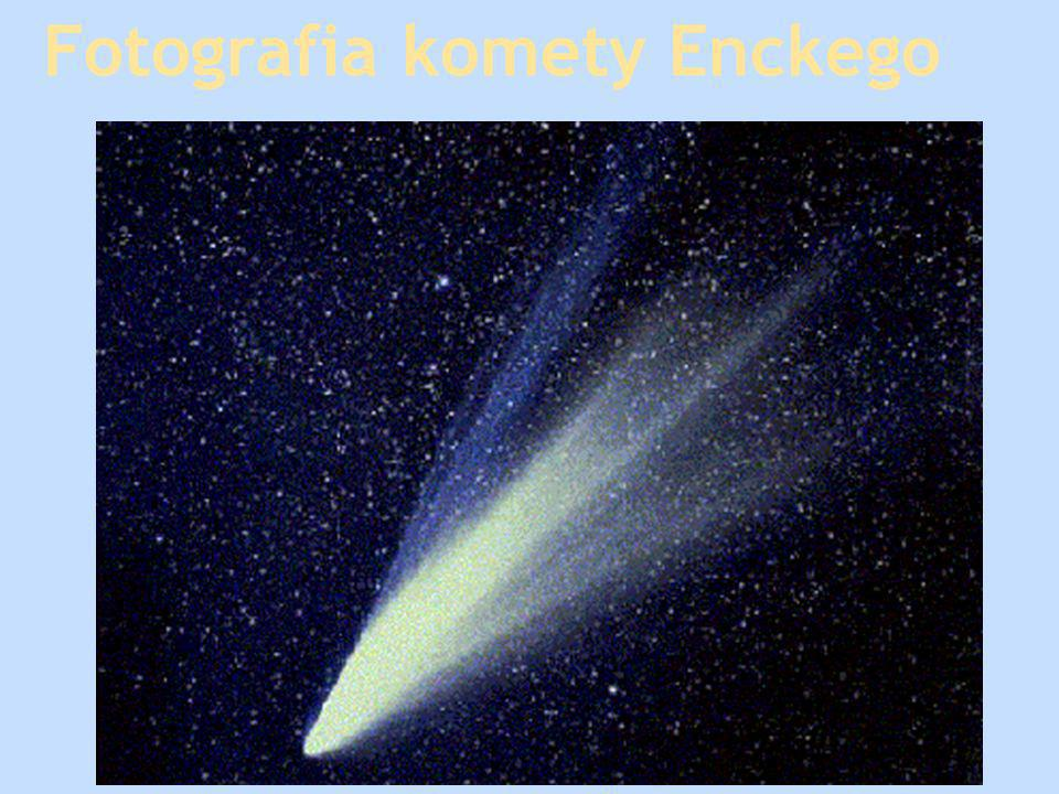 Fotografia komety Enckego